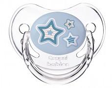 Kojenecké šidítko modré Newborn Baby silikonové