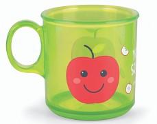 Protiskluzový zelený hrneček Jablko